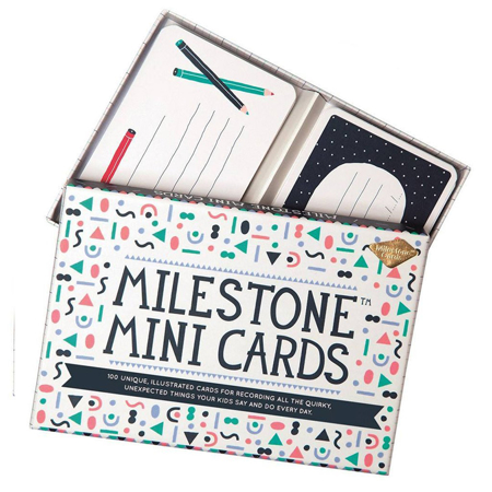 Picture of Milestone Baby Cards - Mini - 100 Quotes And Memories