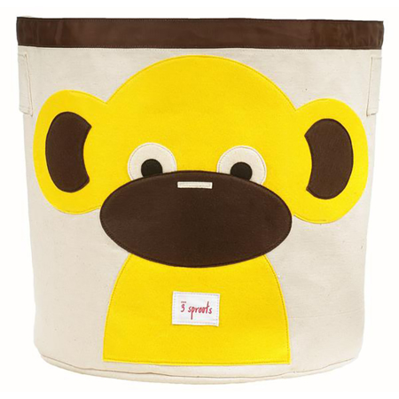 Picture of 3Sprouts® Storage Bin Monkey