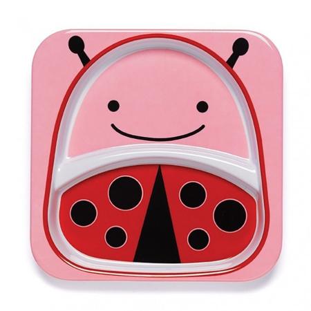 Slika Skip Hop® Otroški deljeni krožnik Pikapolonica