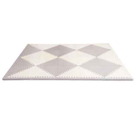 Picture of Skip Hop® Playspot Geo Foam Floor Tiles Grey/Cream