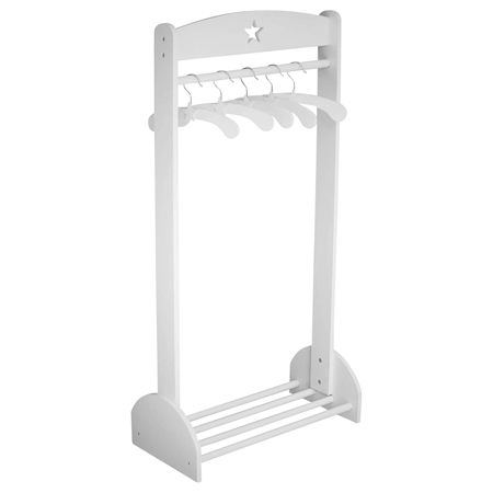 Picture of Kids Concept® Clothes Rail Star White