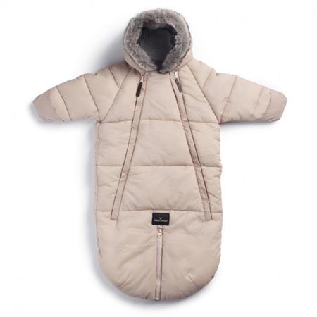 Slika Elodie Details® Pajac in zimska vreča za dojenčka Powder Pink