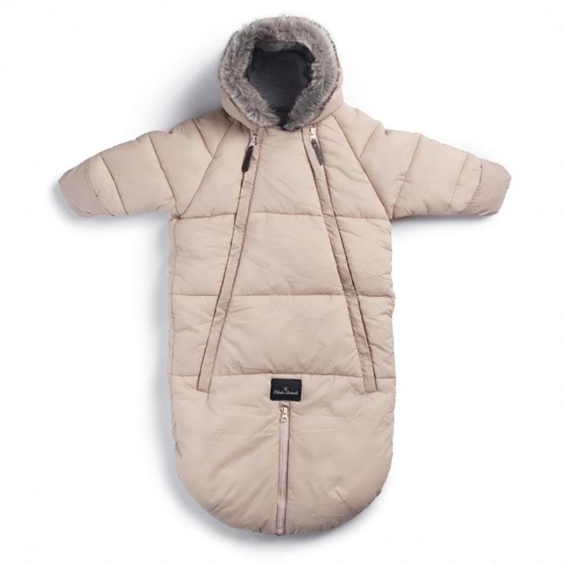 Elodie Details® Pajac in zimska vreča za dojenčka Powder Pink