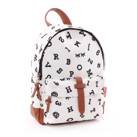 Picture of Kidzroom® Round Backpack Black&White Numbers
