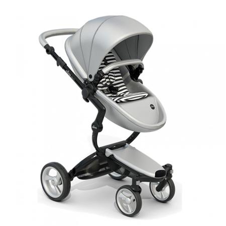 Slika Mima® Otroški voziček s košaro 2v1 Xari Argento