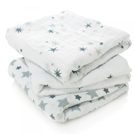 Picture of Aden+Anais Muslin Squares 3-Pack - Twinkle
