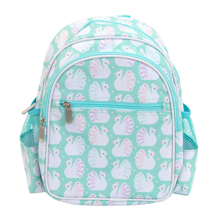 Picture of A Little Lovely Company Backpack - Peacocks