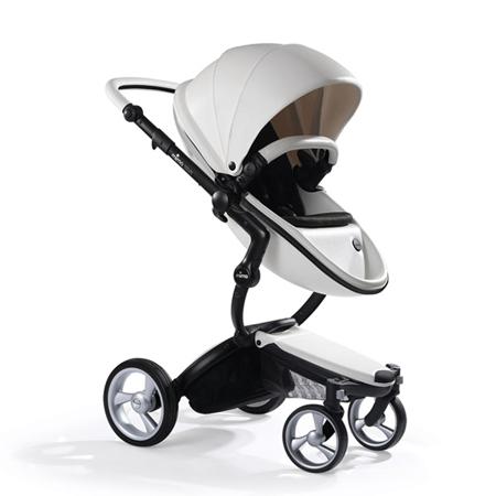 Slika Mima® Otroški voziček s košaro 2v1 Xari Snow White