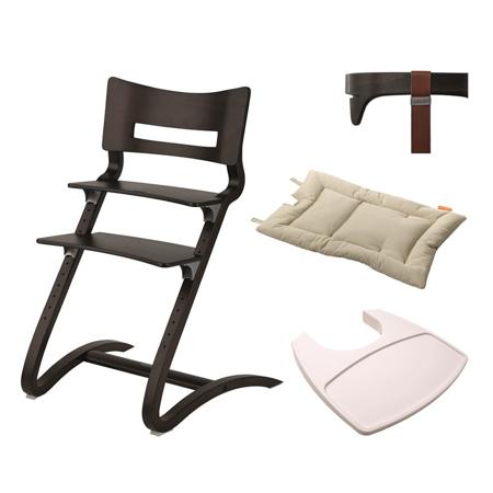 Slika Leander® Otroški stol z dodatki Walnut