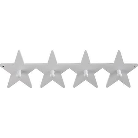 Immagine di Kids Concept® Appendiabiti in legno Star Grey