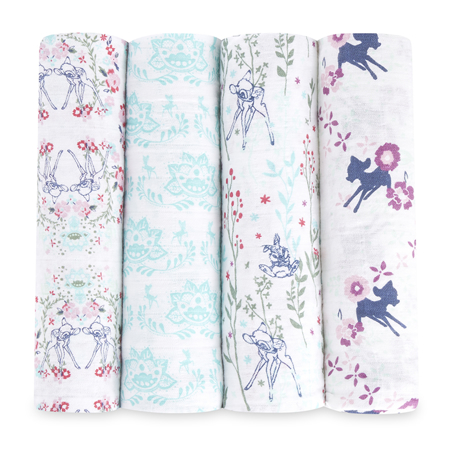 Picture of Aden+Anais Classic Swaddle Set 4-Pack - Disney's Bambi
