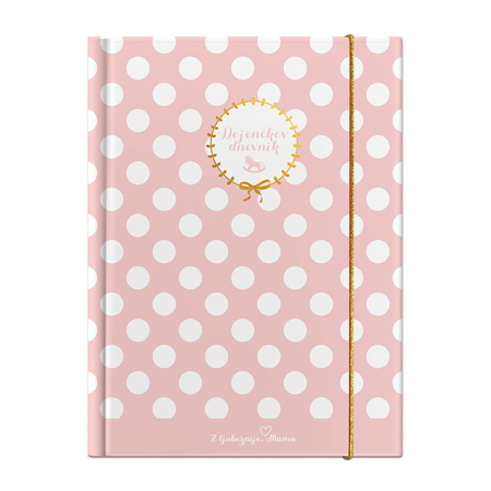 Slika Z ljubeznijo, Mama® Dojenčkov dnevnik Roza