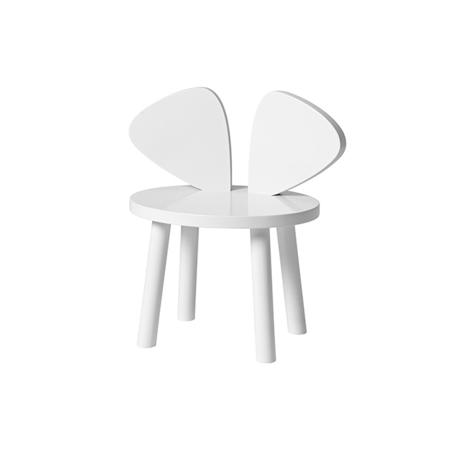 Slika NoFred® Stolček Mouse White 2-5let