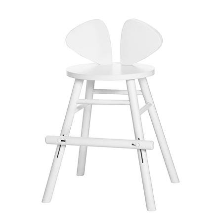 Slika NoFred® Visoki stolček Mouse White 3-9let