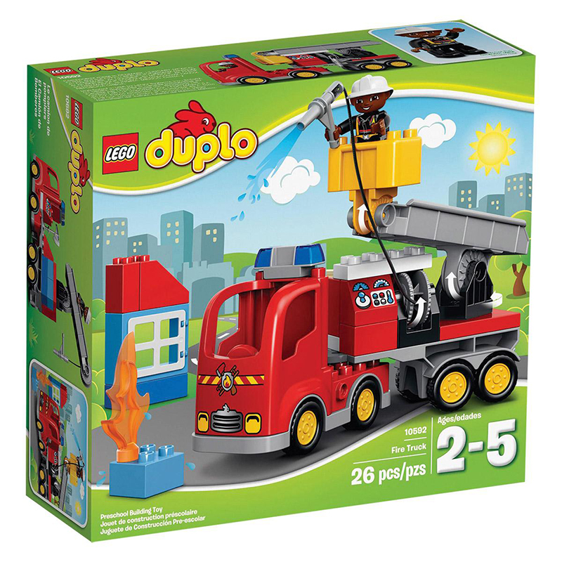 Lego® Duplo Gasilsko vozilo