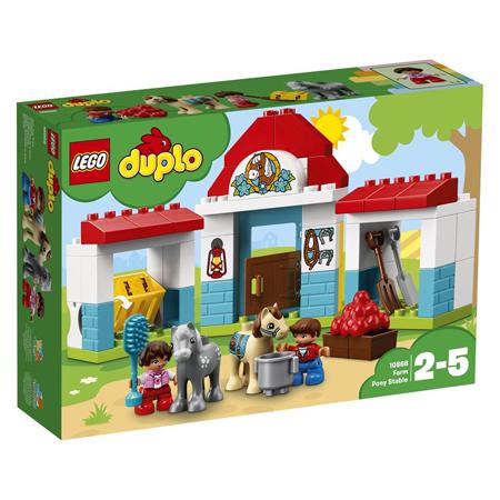 Slika Lego® Duplo Hlev za ponije