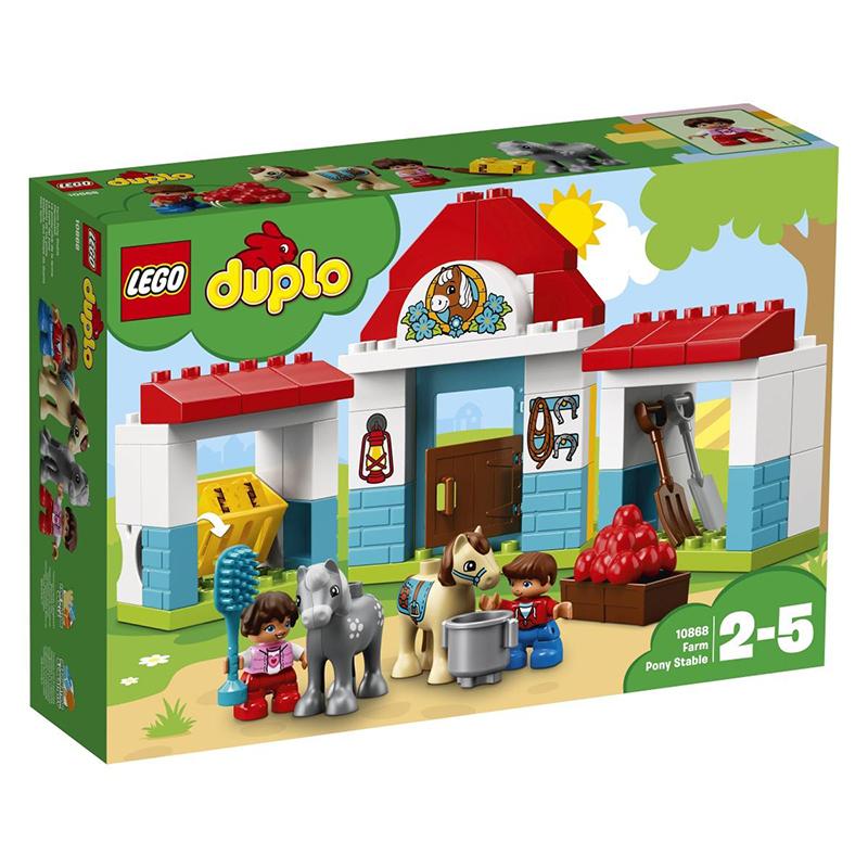 Lego® Duplo Hlev za ponije