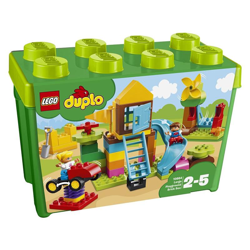 Lego® Duplo Moje prvo veliko igrišče v škatli s kockami