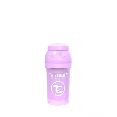 Picture of Twistshake Anti-Colic Bottle 180ml (0+M) - Pastel Purple