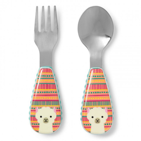 Slika Skip Hop® Otroški jedilni pribor Lama