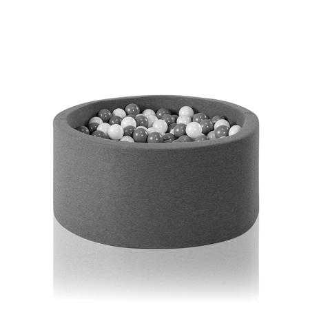 Slika Misioo® Bazen s kroglicami Grey Basic Smart