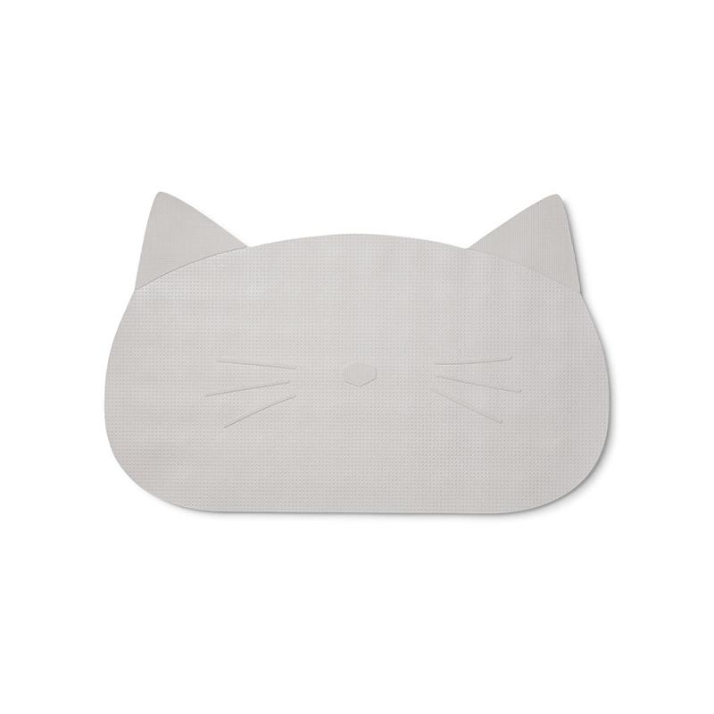 Liewood® Silikonska podloga proti drsenju za kopel Cat dumbo Grey