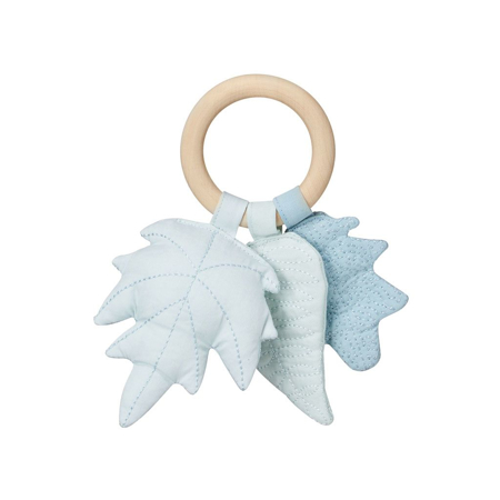 Picture of CamCam® Leaves Rattle Blue