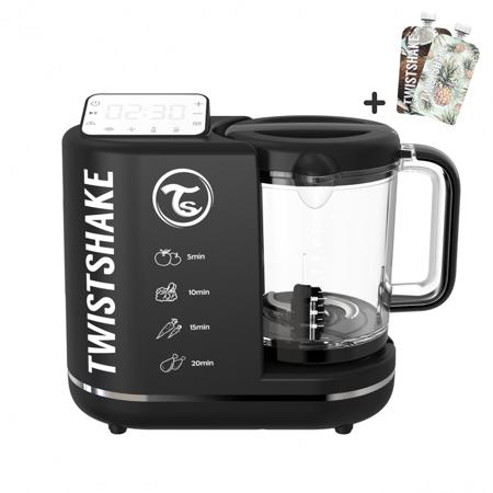 Slika Twistshake® Kuhalnik 6v1 Črn