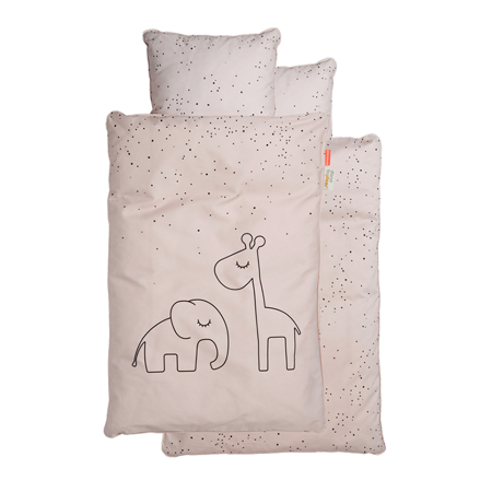 Immagine di Done by Deer® Biancheria da letto Dreamy Dots Junior Powder 100x140