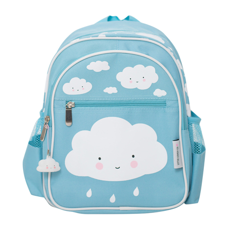 Picture of A Little Lovely Company Backpack - Blue Cloud