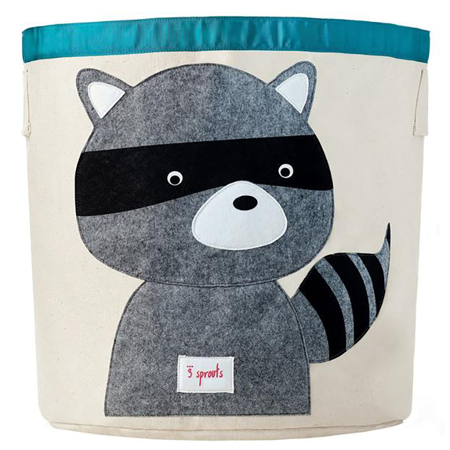 Picture of 3Sprouts Storage Bin - Raccoon