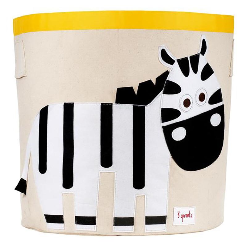 3Sprouts® Koš za igrače Zebra