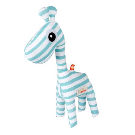 Slika Done by Deer® Aktivnostna ropotuljica žirafa Raffi - Svetlo Modra