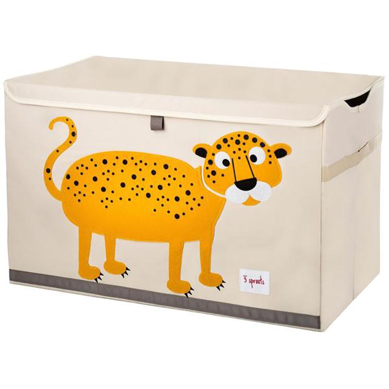 3Sprouts® Zabojnik za igrače Leopard