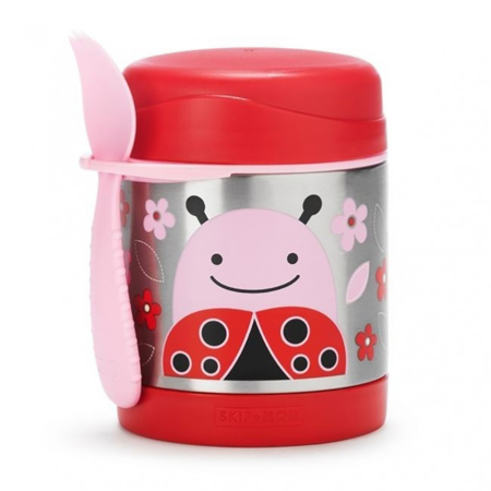 Picture of Skip Hop® Insulated Little Kid Food Jar Ladybug