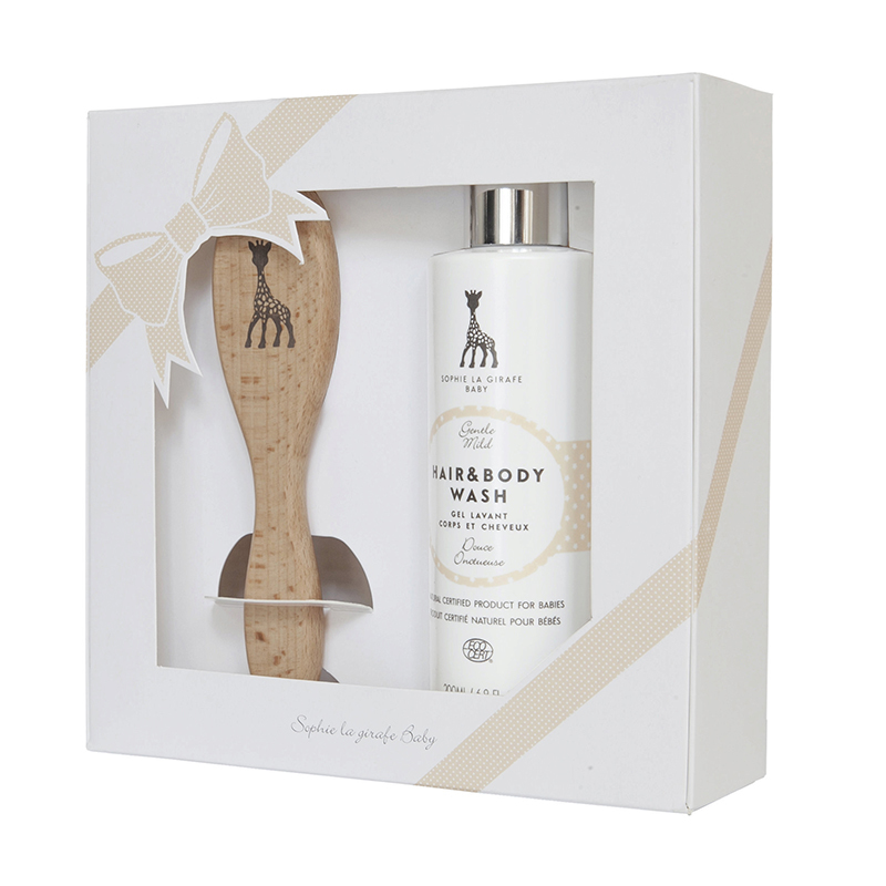 Sophie la Girafe® Baby Natural Hair Brush Set