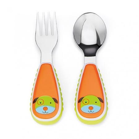 Slika Skip Hop® Otroški jedilni pribor Kuža
