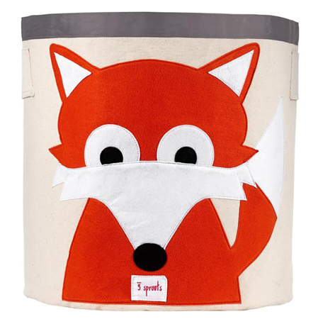 Picture of 3Sprouts Storage Bin - Fox