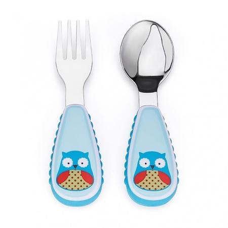 Slika Skip Hop® Otroški jedilni pribor Sovica