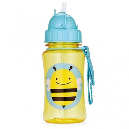 Slika Skip Hop® Steklenička s slamico Čebelica