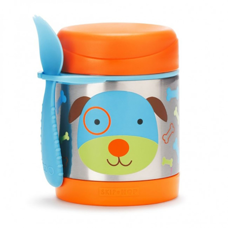 Picture of Skip Hop® Insulated Little Kid Food Jar Puppy