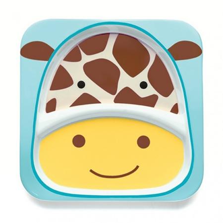 Slika Skip Hop® Otroški deljeni krožnik Žirafa