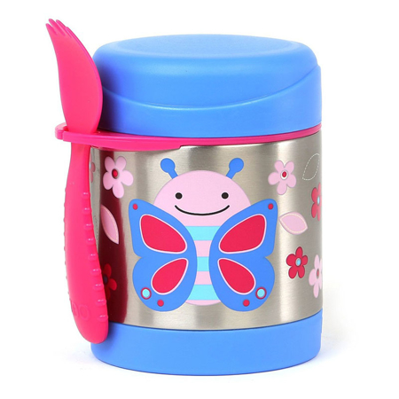 Picture of Skip Hop® Insulated Little Kid Food Jar Butterfly