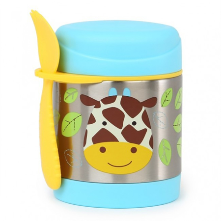Picture of Skip Hop® Insulated Little Kid Food Jar Giraffe