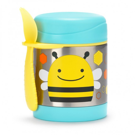 Picture of Skip Hop® Insulated Little Kid Food Jar Bee
