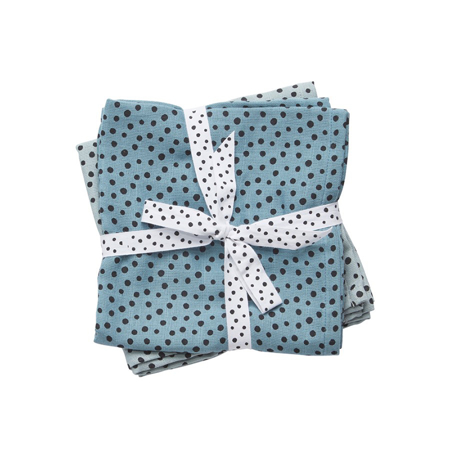 Picture of Done by Deer® Swaddles 2-Pack Happy Dots