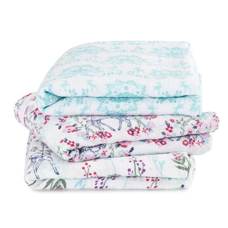 Picture of Aden+Anais Muslin Squares 3-Pack - Disney's Bambi
