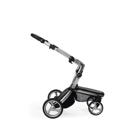 Slika Mima® Ogrodje za voziček Xari - Srebrna