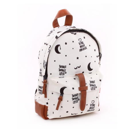 Picture of Kidzroom® Round Backpack Black&White Twinkle