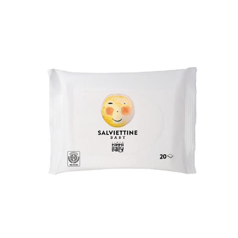 Linea MammaBaby® Čistilni vlažilni robčki Momina